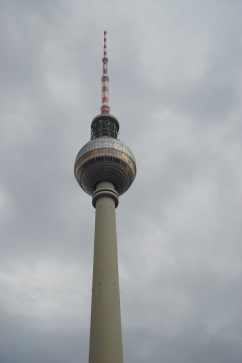 Berlin TV tower. 2nd largest tower in Europe