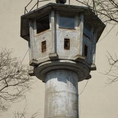 """watchtower in the """"death strip"""""""