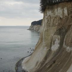 white chalk cliffs