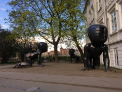 David Cerny sculptures