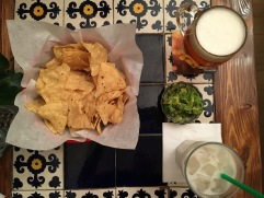 CHIPS and the world's smallest side of guacamole