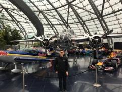 Red Bull hangar