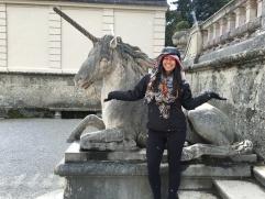 Salzburg is magical: unicorns and snow