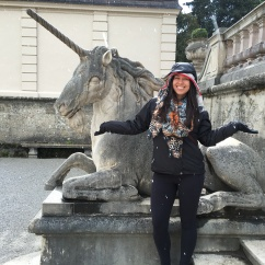 Salzburg is magical: unicorns and snow