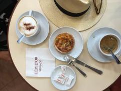 Monaco breakfast before qualifying