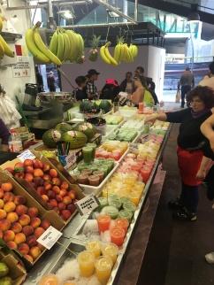 fresh juice at the market