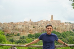 Pitigliano from afar