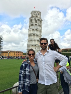 Pisa. poor math in the background.