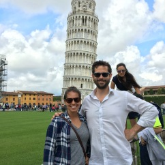 Pisa. poor math in the background.
