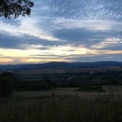 Sunset in Saturnia, Italy