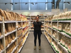 Eataly pasta aisle